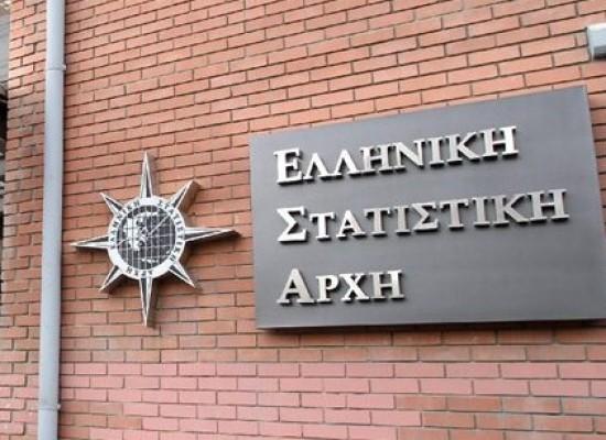 ΕΛΣΤΑΤ: Πλεόνασμα στο 3,9% για το 2016